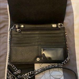 Authentic Michael Kors black crossbody handbag